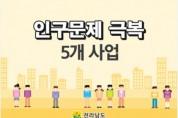 전남, 인구감소지역 통합지원에 곡성·화순 2곳 선정
