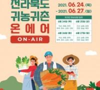 전북, 지난해 귀농귀촌 16,390가구로 전년보다 1,598 증가